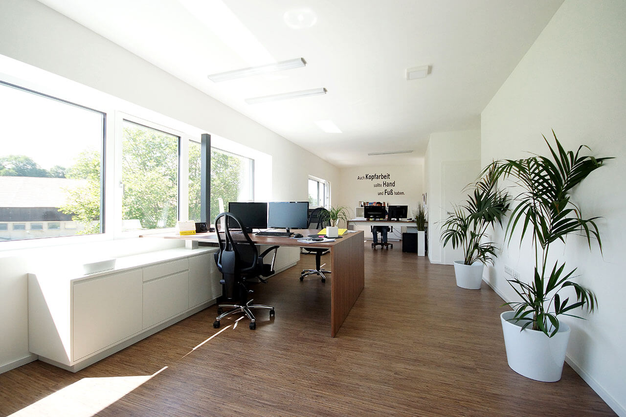 Referenzbild Bürobau